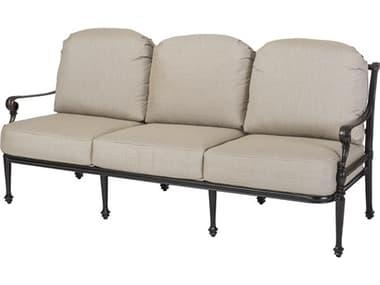 Gensun Grand Terrace Cast Aluminum Cushion Sofa GES11340023