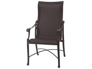 Gensun Michigan Woven Cast Aluminum High Back Dining Chair GES70140001