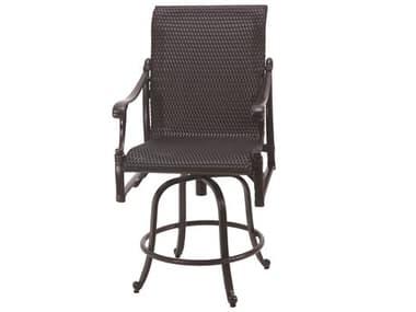 Gensun Michigan Woven Cast Aluminum Swivel Balcony Stool GES70140006