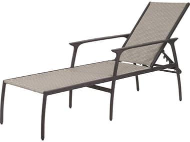Gensun Amari Woven Aluminum Carbon Chaise Lounge GES70250009