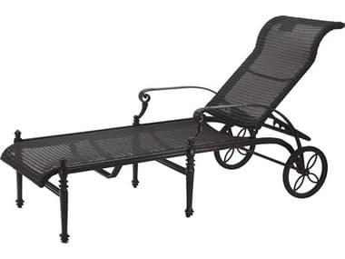 Gensun Grand Terrace Woven Cast Aluminum Chaise Lounge GES71340009