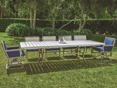 Gensun Drake Upholstered Aluminum Dining Set GESDRAKEUSTRDDINSET