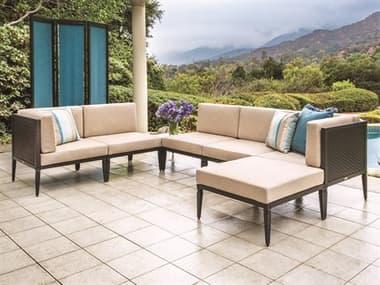 Gensun Drake Woven Modular Cushion Lounge Set GESDRAKEUSTRDMDLRSET