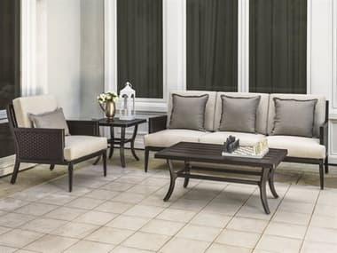 Gensun Drake Woven Deep Seating Lounge Set GESDRAKEWVNLNGSET