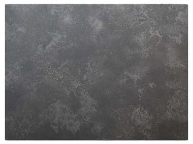 Grosfillex Vanguard Resin Dark Concrete Exterior 32''W x 24''D Rectangular Table Top GXUS24D744