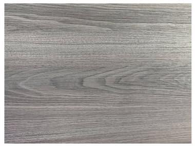 Grosfillex HPL Resin Walnut 32''W x 24''D Rectangular Table Top with Rails GXUS24H722