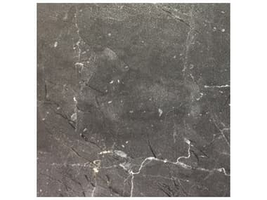 Grosfillex Vanguard Resin Gray Marble 36'' Wide Square Exterior Table Top GXUS36D791