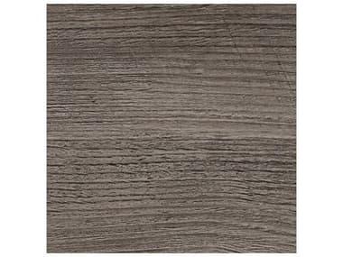 Grosfillex Molded Melamine Resin Aged Oak 24'' Wide Square Table Top GXUT210742