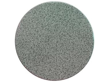 Grosfillex Molded Melamine Resin Granite Green 28'' Wide Round Table Top GXUT225025