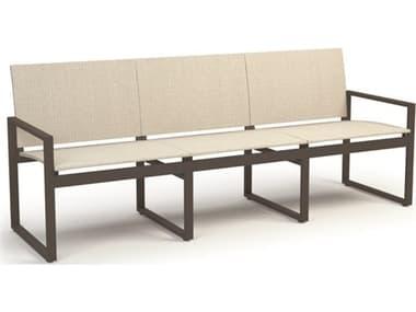 Homecrest Allure Aluminum Sling Sofa HC11430