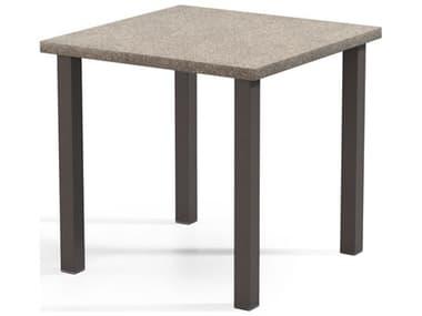 Homecrest Stonegate Aluminum 42'' Wide Square Bar Table HC2542SBRSGNU
