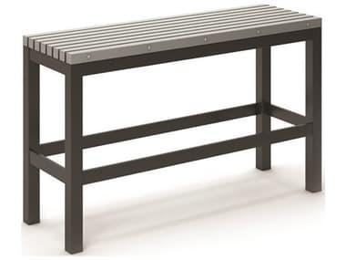 Homecrest Eden Aluminum 48''W x 15.5''D Slat Bar Bench HC262948