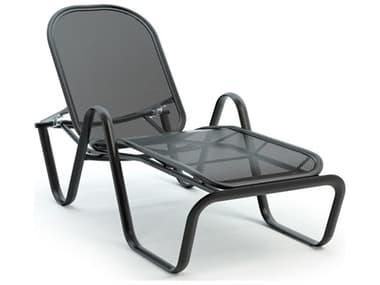 Homecrest Florida Mesh Aluminum Stackable Adjustable Chaise Lounge HC29400