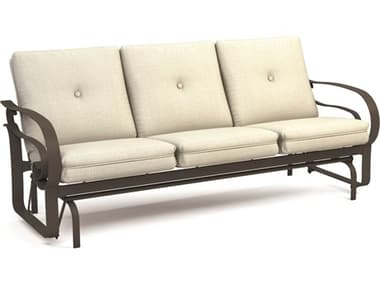 Homecrest Emory Cushion Aluminum Low Back Glider Sofa HC2M46A
