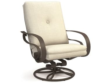 Homecrest Emory Cushion Aluminum High Back Swivel Rocker Lounge Chair HC2M92A