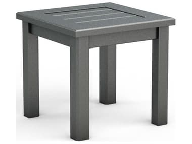 Homecrest Dockside Aluminum 17'' Wide Square End Table HC3117S