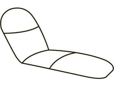Homecrest Biscayne Replacement Self-Adjusting Chaise Cushions HC31300CH