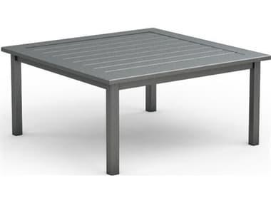 Homecrest Dockside Aluminum 45'' Wide Square Chat Table HC314545C