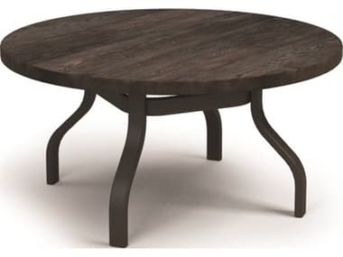Homecrest Timber Aluminum 42'' Wide Round Chat Table HC3742RCTMNU