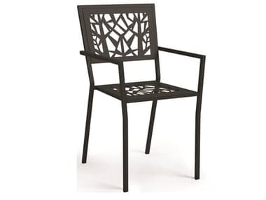 Homecrest Echo Steel Stackable Dining Arm Chair HC94370