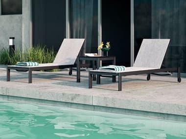 Homecrest Allure Sling Aluminum Lounge Set HCALLRELNGSET