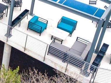 Homecrest Allure Modular Aluminum Cushion Lounge Set HCALLREMDLRLNGSET