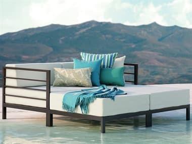 Homecrest Allure Modular Aluminum Daybed Lounge Set HCALLRMDLLNGSET
