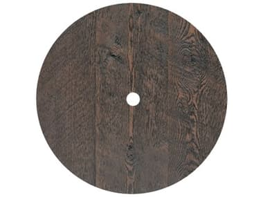 Homecrest Timber Faux Wood 42 Round Table Top with Umbrella Hole HCC0042RTM