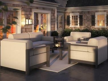 Homecrest Grace Cushion Aluminum Lounge Set HCGRACELOUNGESET6