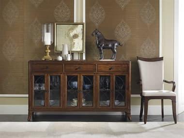 Hooker Furniture Palisade Dark Wood 66.5''L x 18''W Rectangular Buffets HOO518375900
