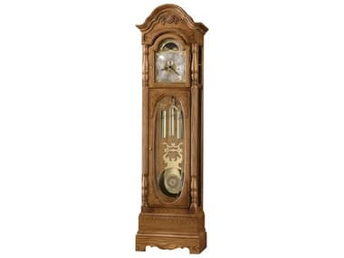 Howard Miller Schultz Golden Oak Floor Clock HOW611044