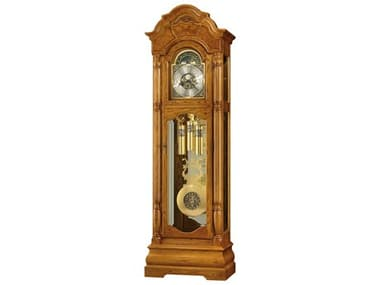 Howard Miller Scarborough Legacy Oak Floor Clock HOW611144