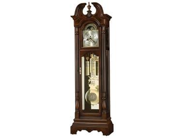 Howard Miller Bretheran Cherry Bordeaux Floor Clock HOW611260