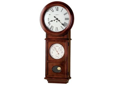 Howard Miller Lawyer II Windsor Cherry Wall Clock HOW620249