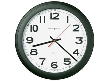 Howard Miller Norcross Matte Black Wall Clock HOW625320