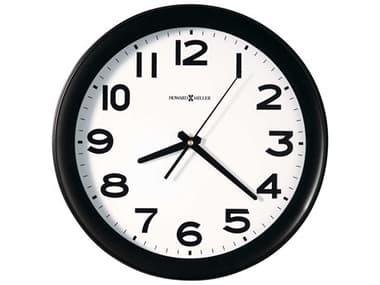 Howard Miller Kenwick Black Wall Clock HOW625485
