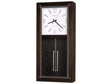 Howard Miller Reese Black Coffee Chiming Wall Clock HOW625595