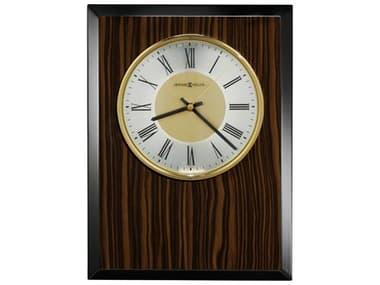 Howard Miller Honor Time Tempo Macassar Ebony Stripe Piano Wall Clock HOW625600