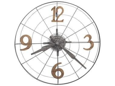 Howard Miller Phan Warm Gray Wall Clock HOW625635