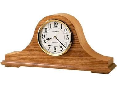 Howard Miller Nicholas Golden Oak Clock HOW635100