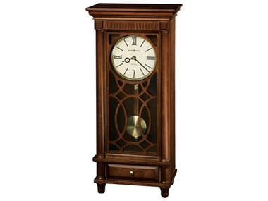 Howard Miller Lorna Tuscany Cherry Sofa Table Clock HOW635170