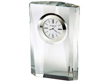 Howard Miller Quest Silver-Tone Bezel Crystal Clock HOW645720