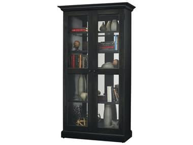 Howard Miller Lennon II Aged Black Display Cabinet HOW670006