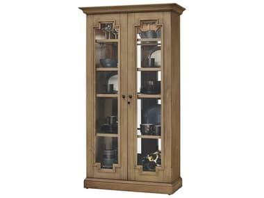 Howard Miller Chasman II Aged Natural Display Cabinet HOW670011