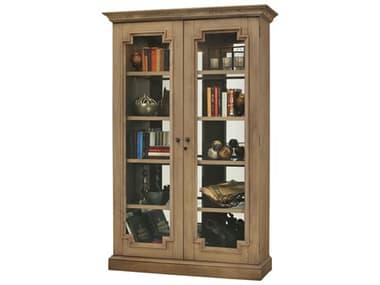 Howard Miller Desmond IV Aged Natural Display Cabinet HOW670018