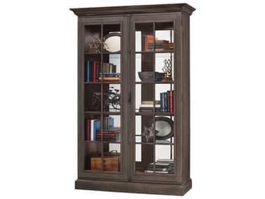 Howard Miller Clawson III Aged Auburn Display Cabinet HOW670022