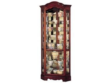 Howard Miller Jamestown Windsor Cherry Corner Curio Cabinet HOW680249