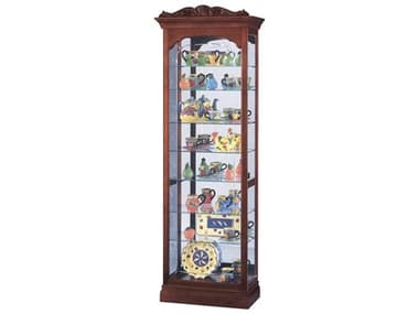 Howard Miller Hastings Windsor Cherry Curio Cabinet HOW680342