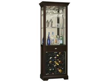 Howard Miller Gimlet Rich Black Coffee Bar Cabinet HOW690005