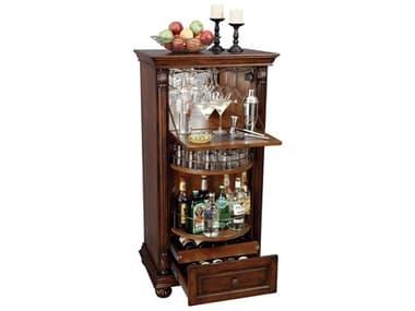 Howard Miller Cognac Hampton Cherry Wine & Bar Cabinet HOW695078